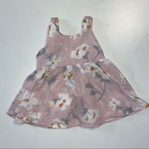 3/15$ cute pink dress with a bow